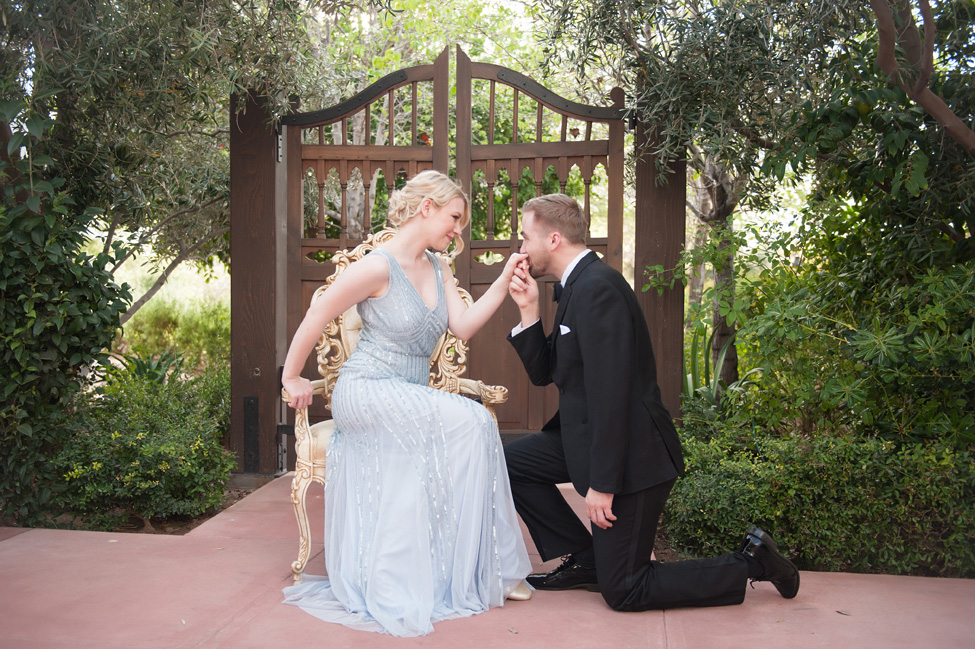 Black Tie Surprise Proposal Cinderella Wedding | Photograph by Ryan & Denise Photography http://storyboardwedding.com/black-tie-surprise-proposal-cinderella-wedding/