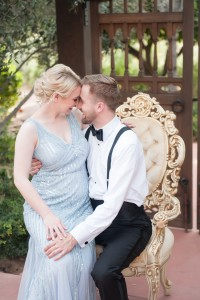 Black Tie Surprise Proposal Cinderella Wedding