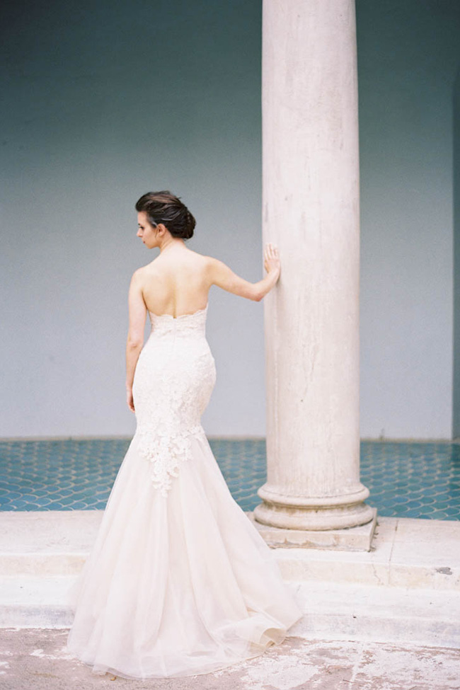 Softly Romantic Glam Bridal Inspiration At Hacienda De Las Flores | Photograph by Jen Huang