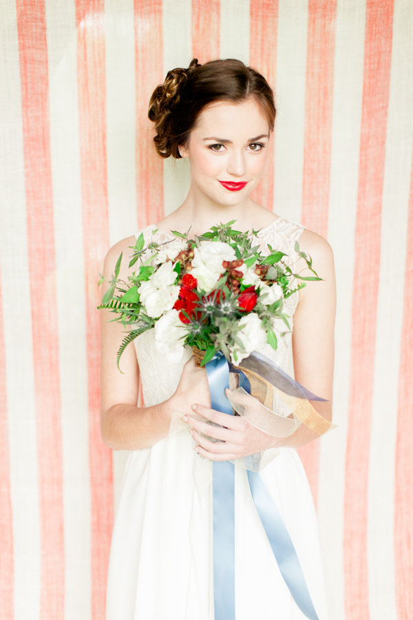 Fourth of July Wedding Inspiration Bride