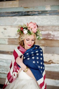 Red White And Blue Wedding Inspiration Roundup With Serious Patriotic ...