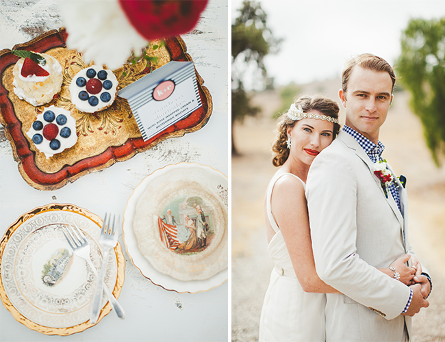 Patriotic Wedding Inspiration