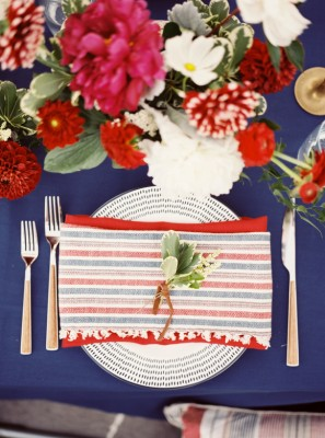 Red White And Blue Wedding Inspiration Roundup With Serious Patriotic Love  http://storyboardwedding.com/red-white-blue-wedding-inspiration-patriotic-wedding/