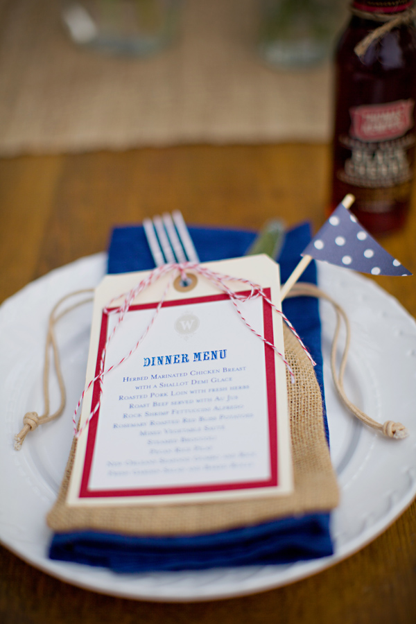 Vintage-Rustic-Festive-Americana-Place-Setting