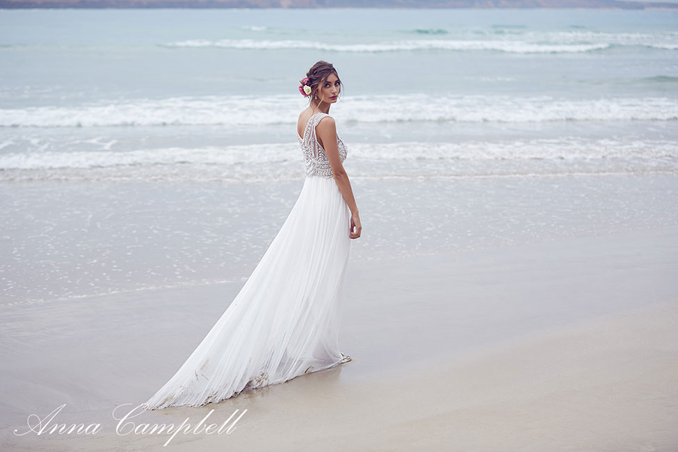 The Drop Dead Gorgeous Spirit Bridal Collection By Anna Campbell | Photograph by 35mm Wedding Photography  See Rest Of The Collection At https://storyboardwedding.com/spirit-bridal-collection-anna-campbell/