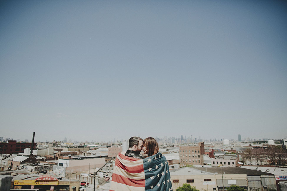 An Iconic Americana Brooklyn Love Story | Photograph by A Fist Full Of Bolts