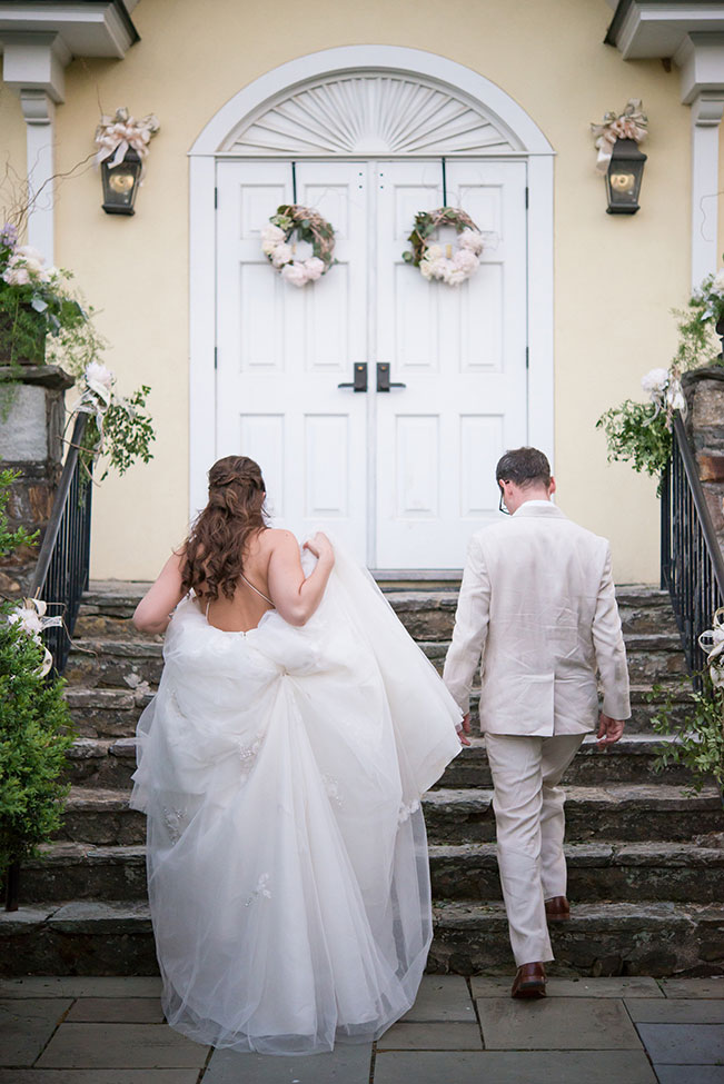 Late Spring Virginia Wedding At Buchanan Hall | Photograph by Daisy Saulls Photography   See The Full Story At https://storyboardwedding.com/late-spring-virginia-wedding-buchanan-hall/
