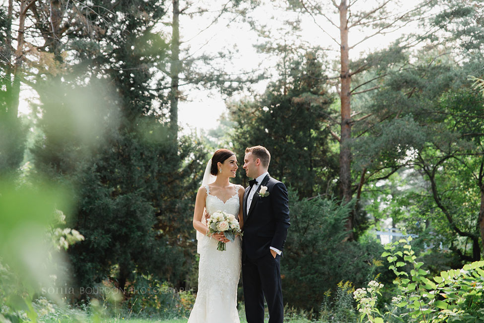 Gorgeous Late Summer Garden Wedding In Montreal