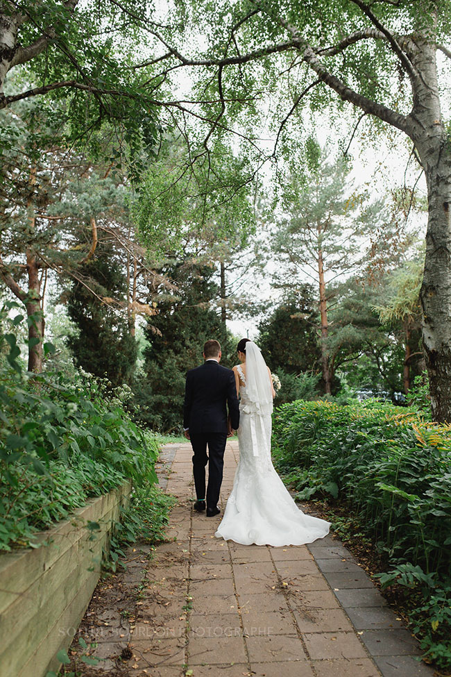 Gorgeous Late Summer Garden Wedding In Montreal