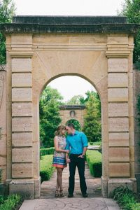 Oklahoma's Philbrook Museum Italian Inspired Garden Engagement | Photograph by Blue Elephant Photography   See the full story at http://storyboardwedding.com/oklahoma-philbrook-museum-italian-garden-engagement/