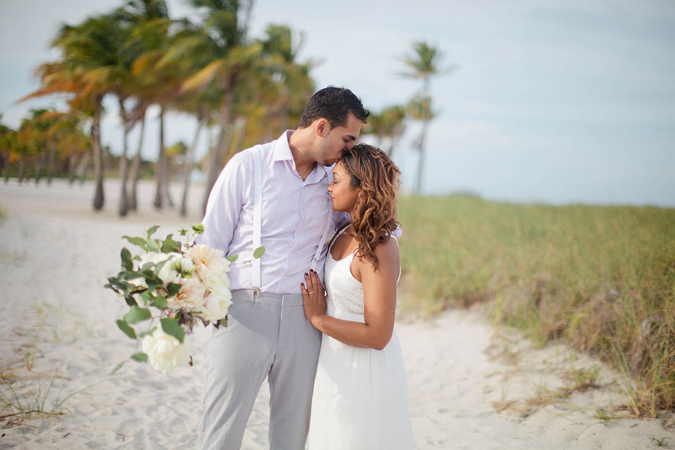 Easy Breezy Destination Wedding For A South Florida Miami Beach Elopement Photograph By Samantha Clarke