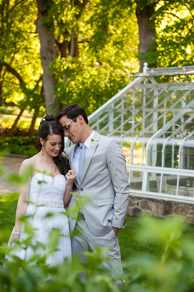 Eco-Chic Minded Massachusetts Summer Estate Garden Greenhouse Wedding | Photograph by Leise Jones Photography  See The Full Story At http://storyboardwedding.com/eco-chic-massachusetts-summer-estate-garden-greenhouse-wedding/