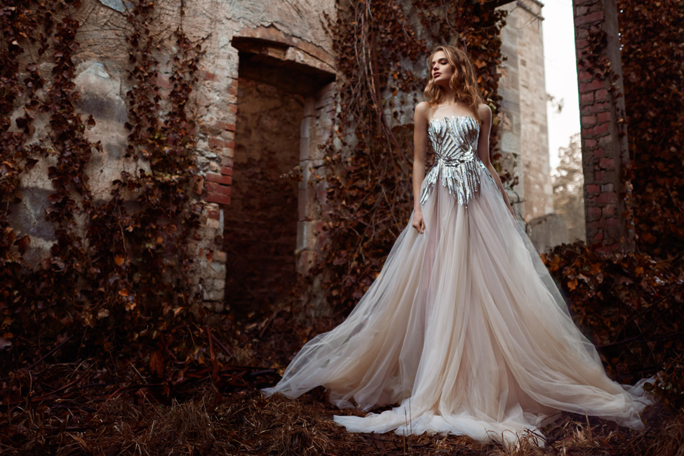 'The Nightingale' Paolo Sebastian Spring Summer 2015-2016 Bridal Collection | View The Full Collection At http://storyboardwedding.com/nightingale-paolo-sebastian-spring-summer-2015-2016-bridal-collection/