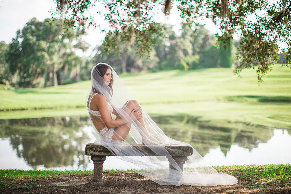 Natural Light Loving Charleston Middleton Place Plantation Garden Boudoir | Photograph by JoPhoto  See The Full Story At