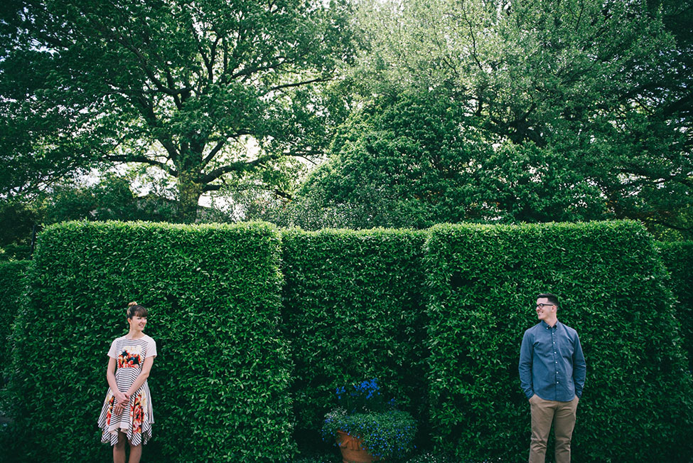 Dallas Arboretum and Botanical Garden Engagement Featuring Gorgeous Foxglove Groves | Photograph by blue elephant photography  See The Full Story At http://storyboardwedding.com/dallas-arboretum-botanical-garden-engagement/