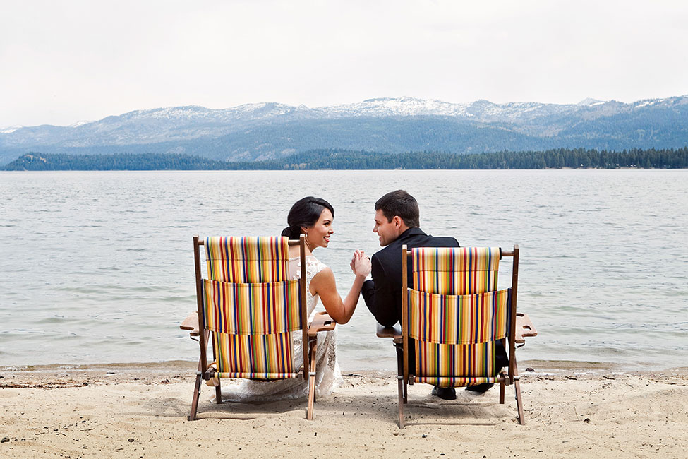 Gorgeous Rustic Glam Lakeside Wedding At Idaho