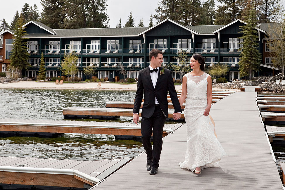 Gorgeous Rustic Glam Lakeside Wedding At Idaho's Shore Lodge | Photograph by Tana Photography  See The Full Story At http://storyboardwedding.com/rustic-glam-lakeside-wedding-idaho-shore-lodge/