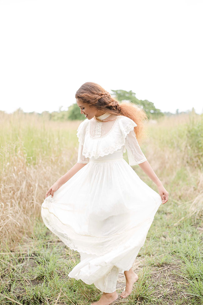 Anne of Green Gables Inspired Vintage Bride Inspiration Shoot   Photograph by Capturing Smiles Photographer   See The Full Story At