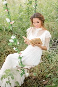 Anne of Green Gables Inspired Vintage Bride Inspiration Shoot