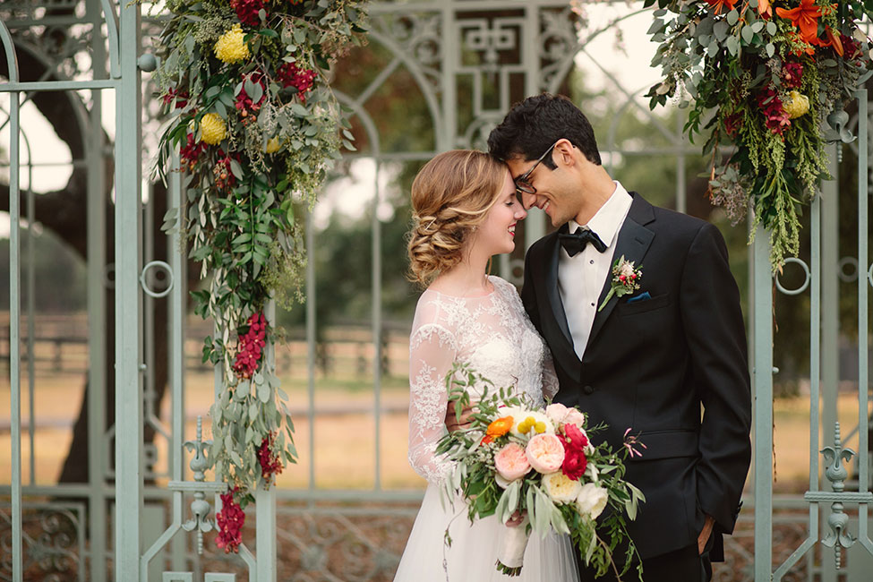 Gorgeous Fall Outdoor Conservatory Wedding At Ma Maison Texas | Photograph by Angela King Photography  https://storyboardwedding.com/fall-outdoor-conservatory-wedding-ma-maison-texas/