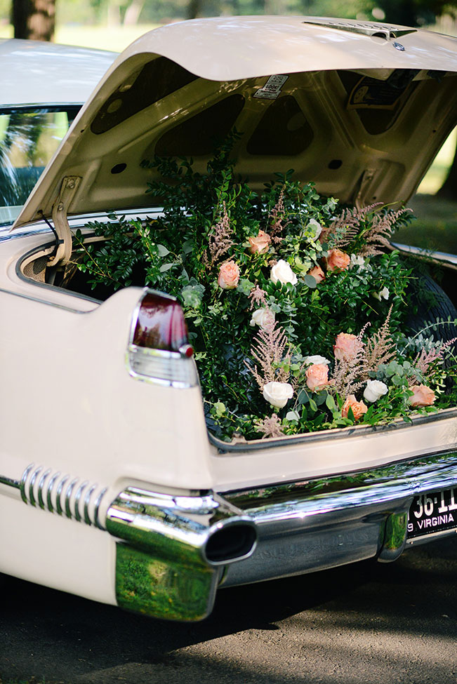 Dreamy Peach Inspired Vintage Estate Wedding With Serious Garden Vibes   Photograph by Ali McLaughlin Photography  See The Full Story At