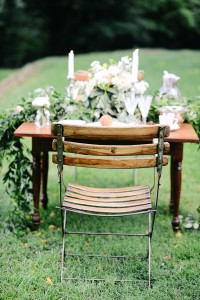 Dreamy Peach Inspired Vintage Estate Wedding With Serious Garden Vibes