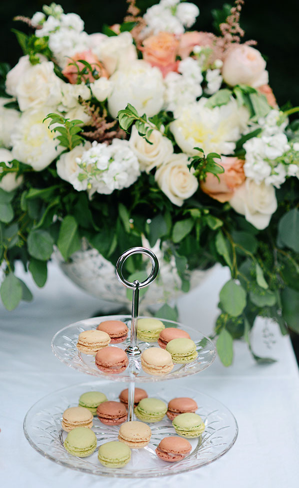 Dreamy Peach Inspired Vintage Estate Wedding With Serious Garden Vibes | Photograph by Ali McLaughlin Photography  See The Full Story At