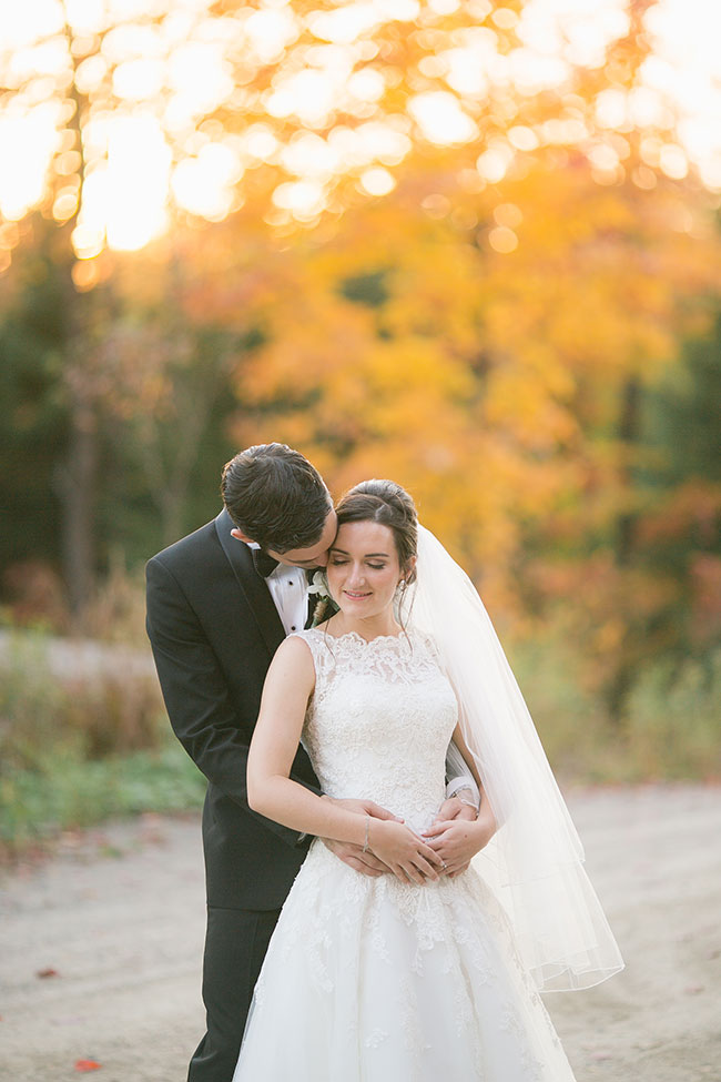 Vintage Chic Fall Quebec Wedding At Fiddler Lake Resort | Photograph by Sonia Bourdon Photography  See The Full Story At http://storyboardwedding.com/vintage-chic-fall-quebec-wedding-fiddler-lake-resort/