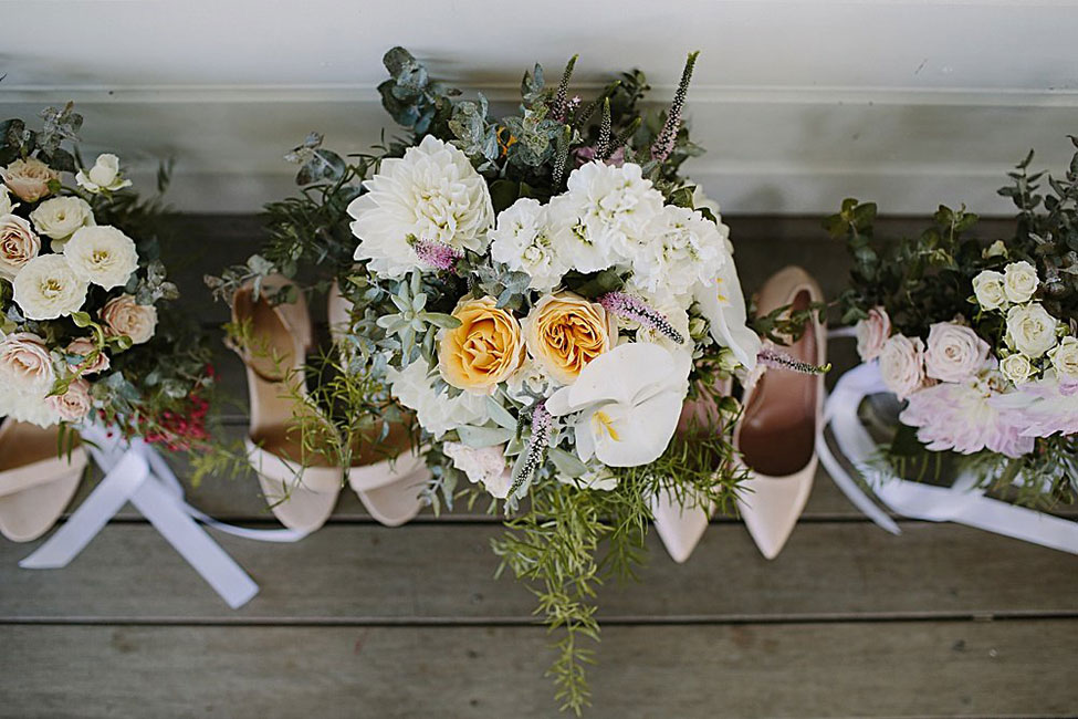 Utterly Dreamy Formal Rustic Chic Byron View Farm Wedding On The Rolling Hill Of Australia  | Photograph by Heart And Colour See The Full Story At https://storyboardwedding.com/formal-rustic-chic-byron-view-farm-wedding/