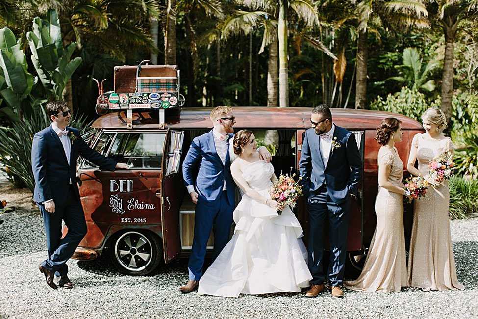 Vibrant Eclectic Byron Bay Australia Wedding With Organic Detailing | Photograph by Heart and Colour  See the full story at https://storyboardwedding.com/eclectic-byron-bay-australia-wedding-organic-details/