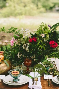 Found & Foraged Inspired Chic Bohemian Wedding With A Dash Of Rustic C...