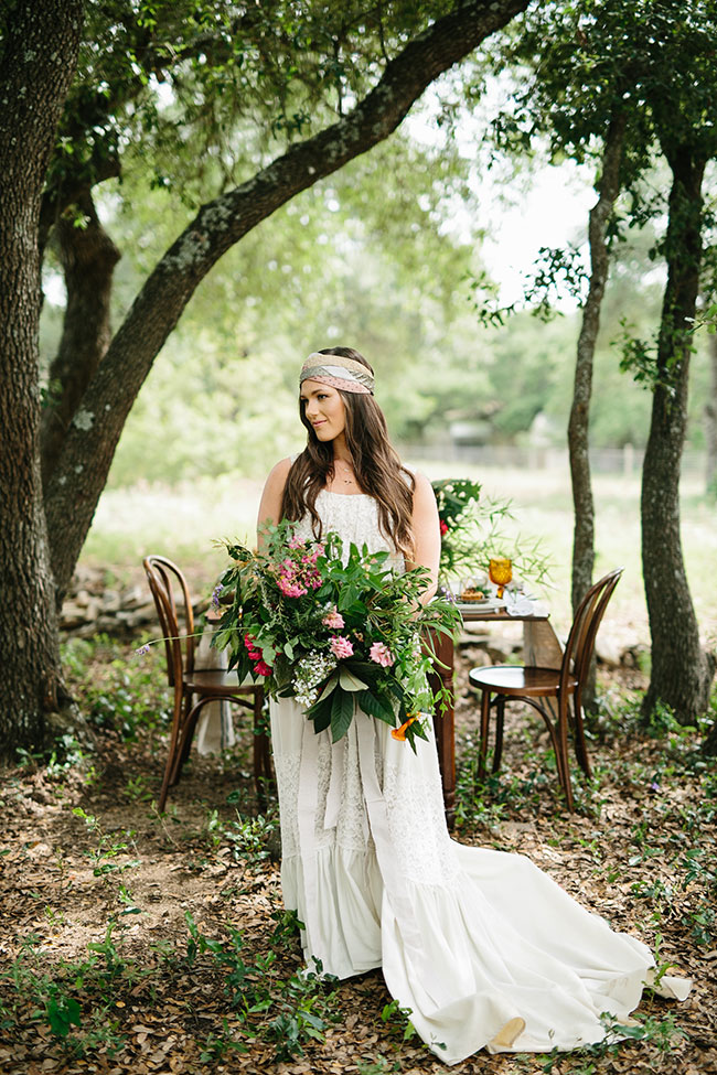 Gorgeous Found Fauna Inspired Chic Bohemian Wedding With A Dash Of Rustic Country | Photograph by LewChan Photography  See The Full Story at https://storyboardwedding.com/floral-inspired-bohemian-wedding-rustic-country/