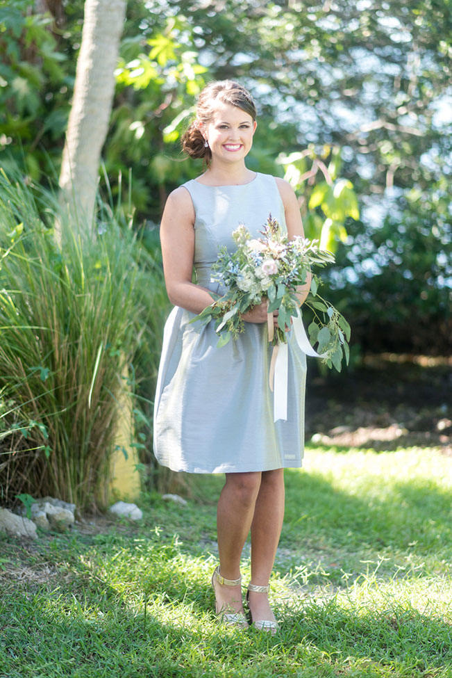 Mix Match Dessy Bridesmaid Dresses Inspired Coastal Florida Wedding Photograph By Caroline Evan