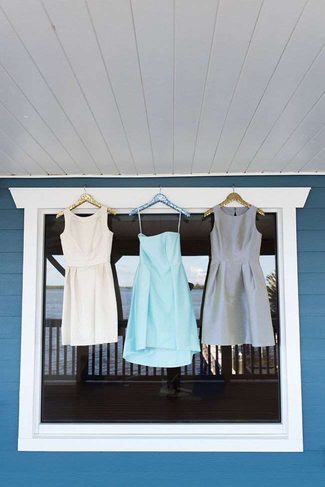 Mix-Match Dessy Bridesmaid Dresses Inspired Coastal Florida Wedding | Photograph by Caroline & Evan Photography See The Full Story at http://storyboardwedding.com/mix-match-dessy-bridesmaid-dresses-coastal-florida-wedding/