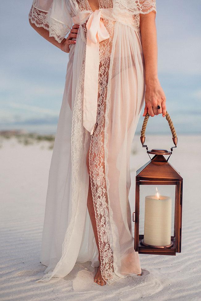 Sugar Sand Filled Romantic Gulf Coast Beach Boudoir | Photograph by Remnant Boudoir  See The Full Story at https://storyboardwedding.com/romantic-gulf-coast-beach-boudoir