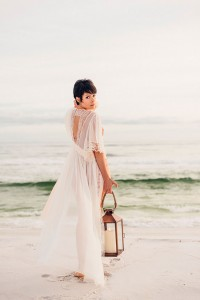 Sugar Sand Filled Romantic Gulf Coast Beach Boudoir