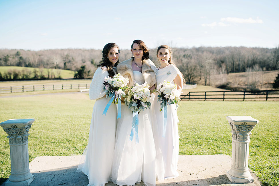 Late Winter Wedding Bridal Session At Rixey Manor Virginia | Photograph by Ali McLaughlin Photography  https://storyboardwedding.com/winter-wedding-bridal-rixey-manor-virginia/