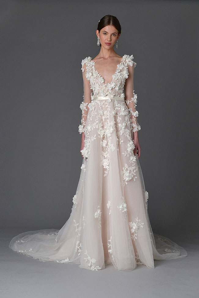 Marchesa Wedding Dress Spring Summer 2017 Bridal Collection  See The Full Collection at http://storyboardwedding.com/marchesa-wedding-dress-2017-bridal-collection/