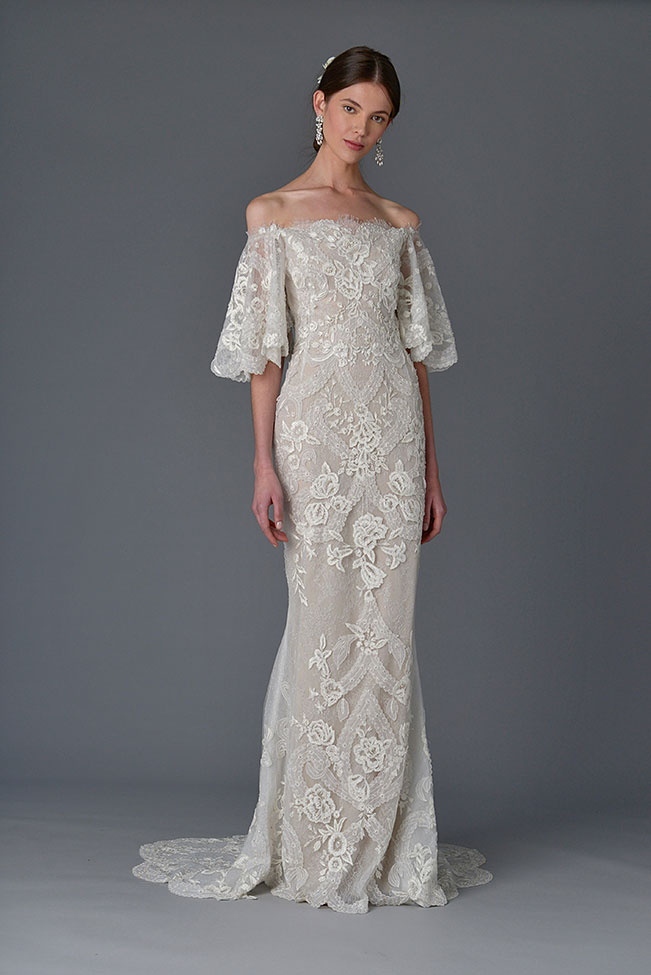 Marchesa Wedding Dress Spring Summer 2017 Bridal Collection  See The Full Collection at https://storyboardwedding.com/marchesa-wedding-dress-2017-bridal-collection/