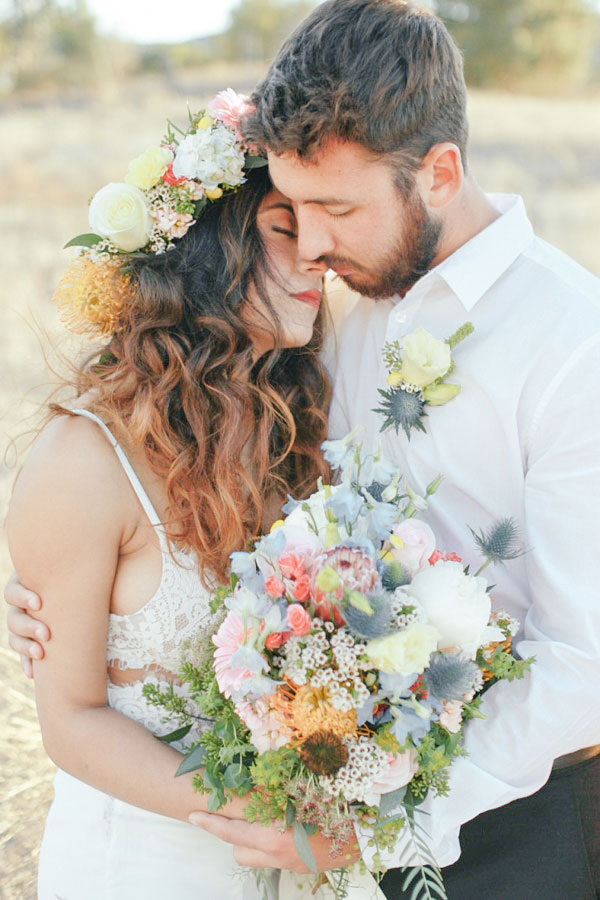 Whimsical & Relaxed Bohemian Wedding At Murrieta Wine Field California | Photograph by Elle Lily Photography  See The Full Story at http://storyboardwedding.com/bohemian-wedding-murrieta-wine-field-california/