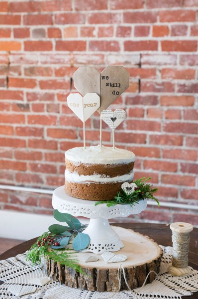 Quirky Anniversary Loft Wedding At Pomona California's The Loft on 2nd | Photograph by Peterson Design & Photography  See The Full Wedding At http://storyboardwedding.com/loft-wedding-pomona-the-loft-on-2nd/
