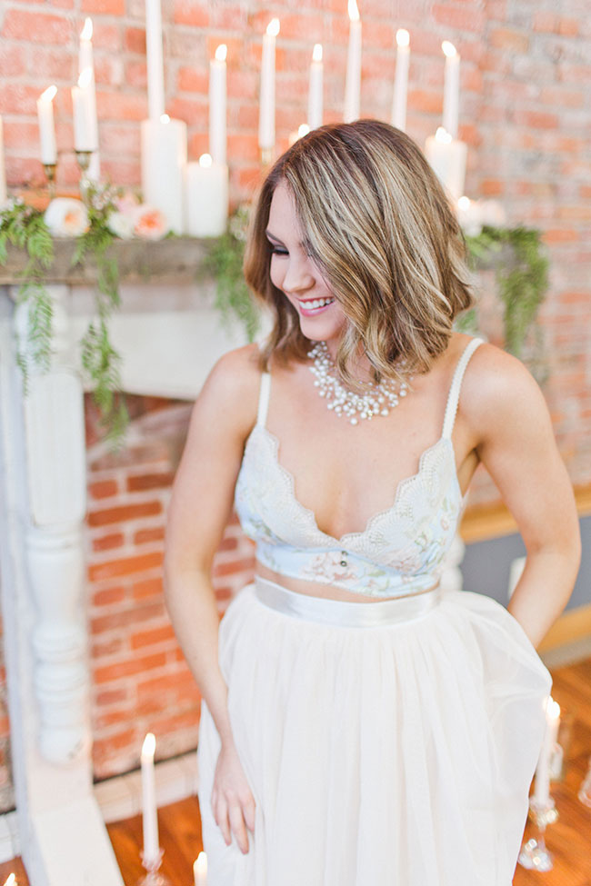Fun And Flirty Loft Boudoir Session At 253 Studio | Photograph by Samantha McFarlen  See The Full Story at https://storyboardwedding.com/flirty-loft-boudoir-session-253-studio/