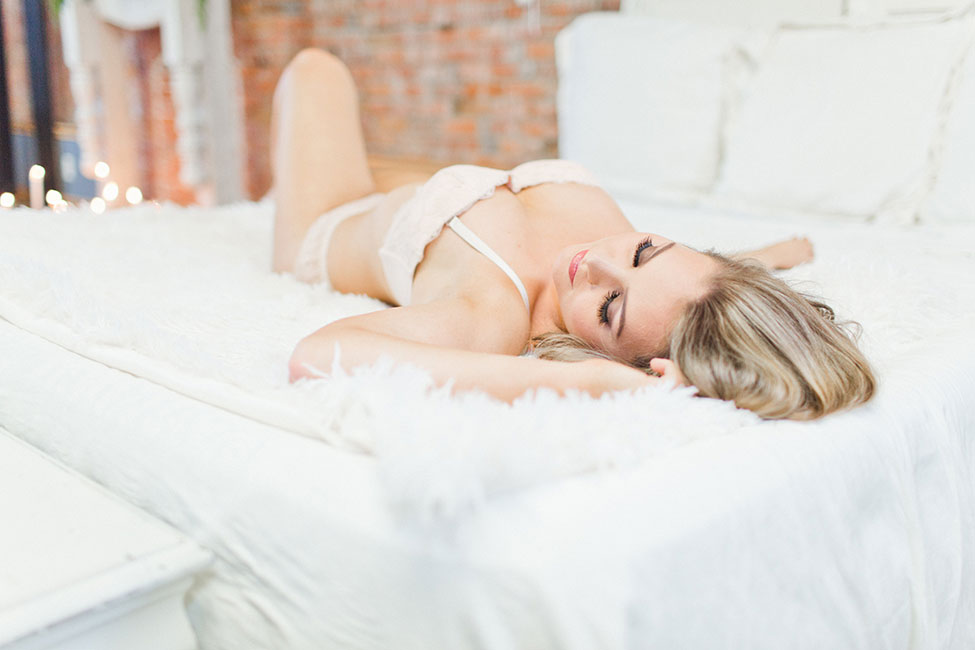 Fun And Flirty Loft Boudoir Session At 253 Studio | Photograph by Samantha McFarlen  See The Full Story at http://storyboardwedding.com/flirty-loft-boudoir-session-253-studio/