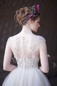 Gorgeously Moody Bridal Style Inspired By 'La Primavere' by Alphonse M...
