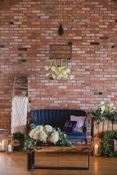 Romantic Industrial Loft Wedding At Ontario's Arlington Hotel  | Photograph by Wendy Alana Photography  See The Full Feature at http://storyboardwedding.com/industrial-loft-wedding-ontario-arlington-hotel/