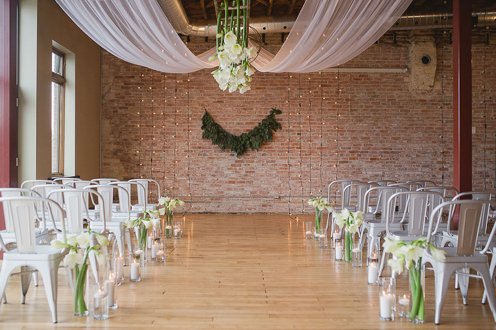 Romantic Industrial Loft Wedding At Ontario