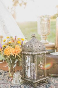 Vintage Decor Infused Bohemian Engagement Session At North Carolina's ...