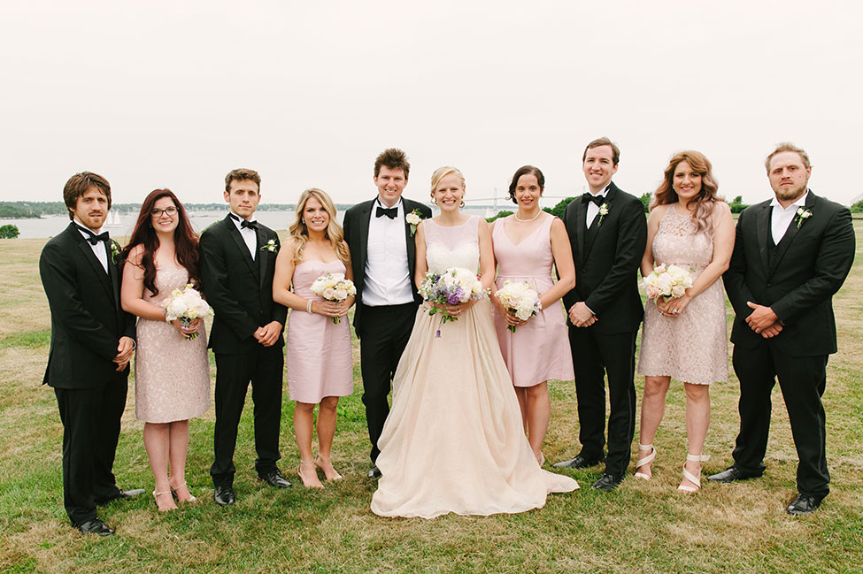 Seaside Eisenhower House Newport Wedding In Rhode Island | Photograph by Eileen Meny Photography  See the full story at http://storyboardwedding.com/seaside-eisenhower-house-newport-wedding/