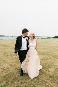 Seaside Eisenhower House Newport Wedding In Rhode Island