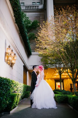 Marie Antoinette Inspired Victorian Wedding At Seattle's Fairmont Olympic Hotel | Photograph by Barrie Anne Photography  See The Full Story at http://storyboardwedding.com/marie-antoinette-victorian-wedding-seattle-fairmont/
